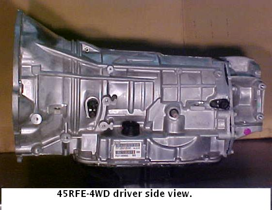 Chrysler 45rfe Transmission