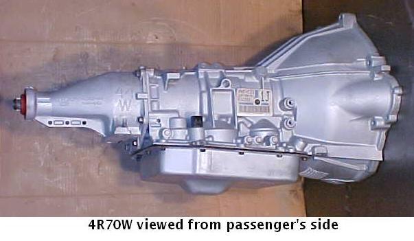 Ford AODE transmission