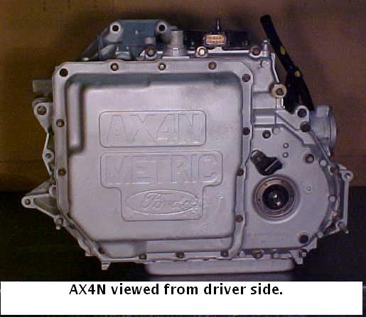 Ford Ax4n Transmission