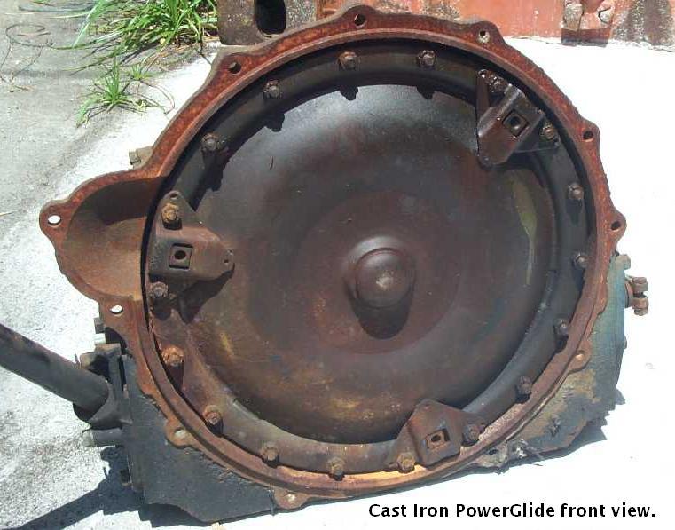 GM Cast Iron Powerglide transmission
