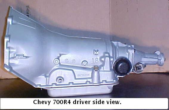 700r4 transmission hook up