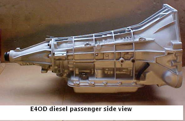 Ford E4OD transmission
