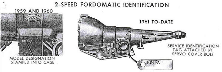 Ford Fordomatic 2 speed transmission