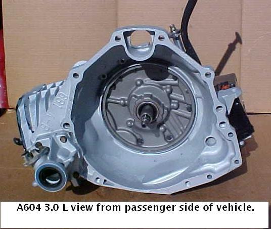 Chrysler A604 transmission