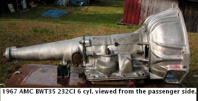 Borg Warner Transmission Parts >> Borg-Warner T35 transmission